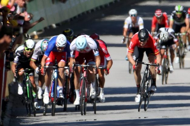 WATCH: The nasty crash that's robbed SA of Tour de France glory