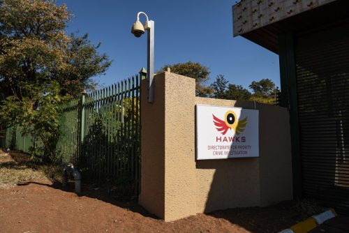 Pictured is the entrance to the HAWKS offices in Silverton. Picture: Jacques Nelles