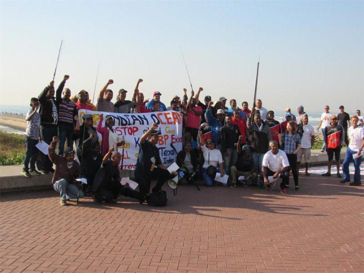 KZN Subsistence Fisherman Forum held a fisherman's walk on Durban's Promenade on Saturday. Picture: Berea Mail