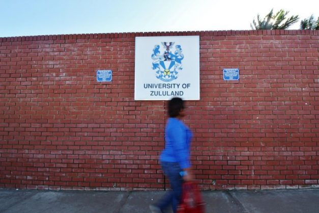 The University of Zululand file picture.