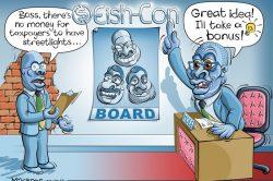 Ghost cartoon: Bonus on the brain
