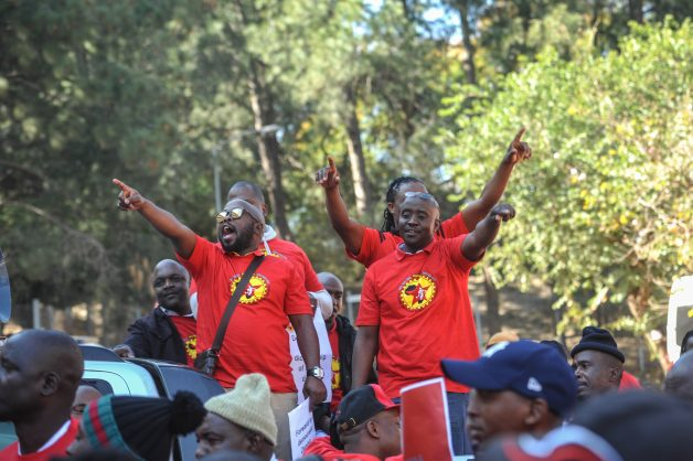 Members of The National Union of Metal Workers of South Africa (NUMSA). Picture: Jacques Nelles