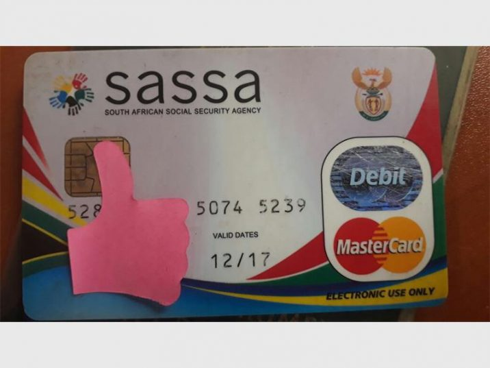 Sassa card with visible expiry date explained by SASSA.