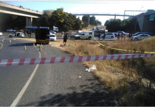 Cash truck bombed three times and shot at in failed heist
