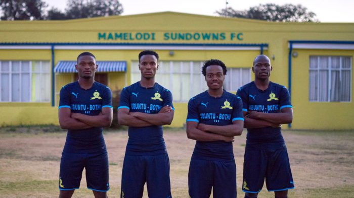 Sundowns reveal new STEP OUT kit