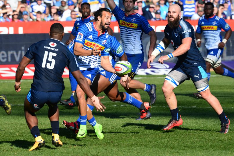 Dillyn Leyds had a superb game for the Stormers. Photo: Lee Warren/Gallo Images.
