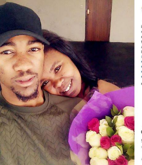 Zahara and her  boyfriend. Picture: Instagram.