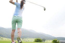 Get a workout playing golf