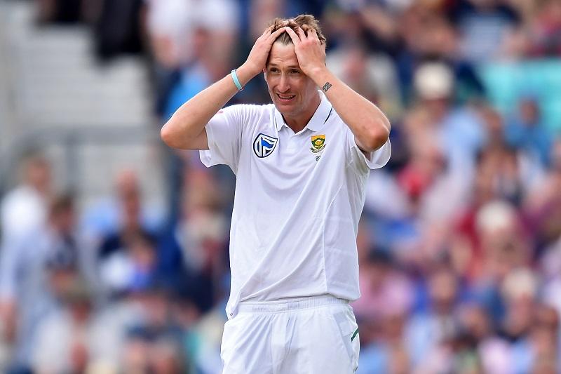 Chris Morris doesn't look like a viable Test player. Photo: Glyn Kirk/AFP.