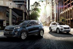 Kia adds 7 new Sportage models