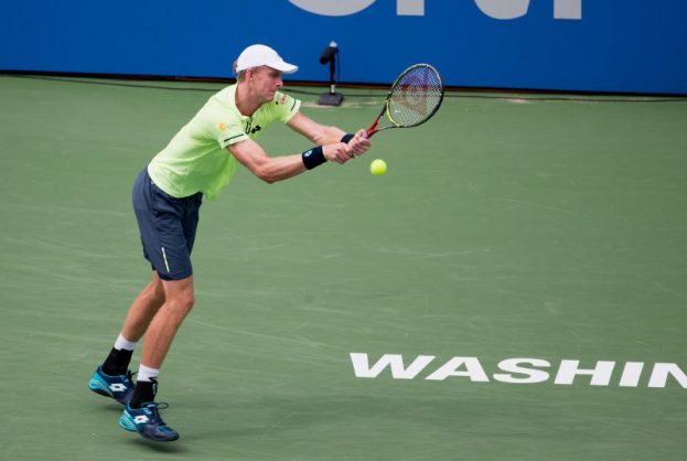 Kevin Anderson's resurgence is continuing streadily.   Photo: Tasos Katopodis/Getty Images/AFP.
