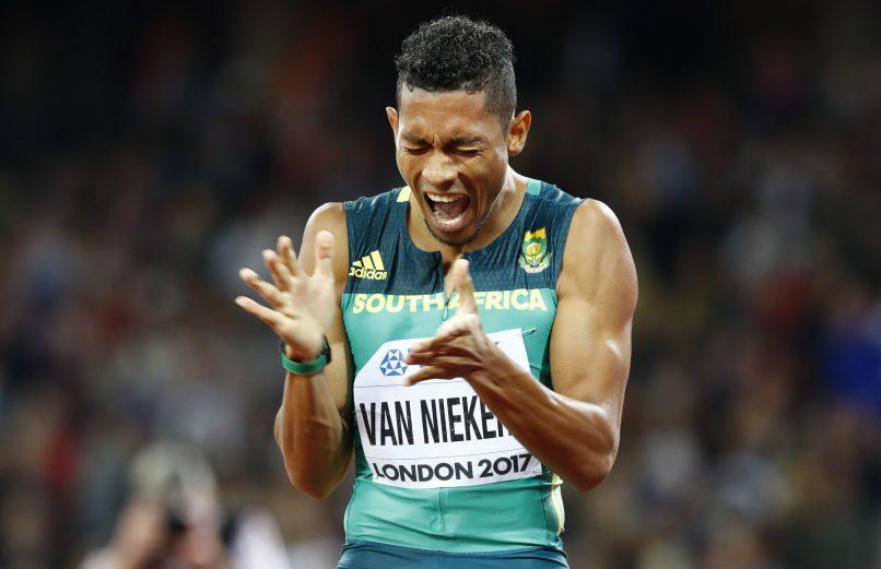 Wayde van Niekerk entrenched his superstar status in 2017. Photo: Lucy Nicholson/Reuters.