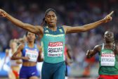 Never in doubt! Caster Semenya is world champ again