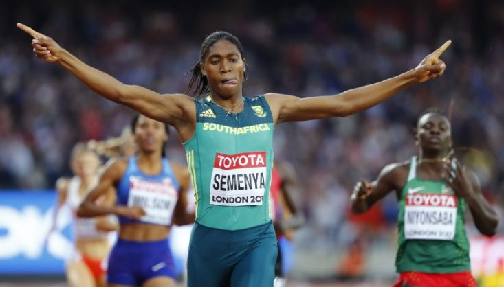 Caster Semenya will look to crown a fabulous year. Photo: Lucy Nicholson/Reuters.