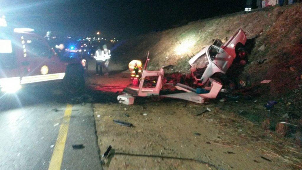 Three Dead One Critically Injured In Centurion Car Crash The Citizen