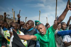 Anger boils five years after S.African massacre of miners