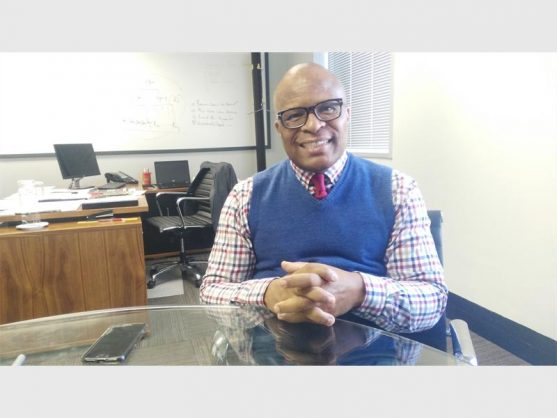 Lungile Dhlamini, Pikitup's managing director, says he hopes to open two waste-to-energy plants in the next five years. Picture: Randburg Sun