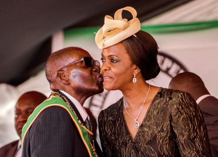 Grace Mugabe is often accused of extravagant spending on luxury clothes and international travel