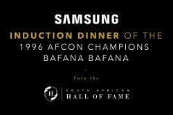 WIN DOUBLE TICKETS TO THE AFCON INDUCTION DINNER AT SUN CITY!