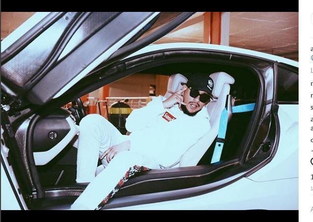 Rapper AKA. Image: Instagram
