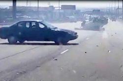 VIDEO: Motorist's shenanigans right after Centurion crash cause uproar