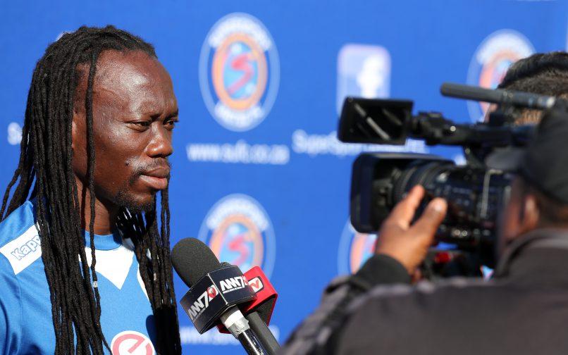 Reneilwe Letsholonyane of SuperSport United (Muzi Ntombela/BackpagePix)