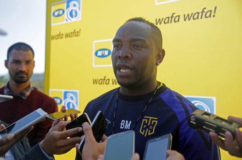 Benni McCarthy, Coach of Cape Town City FC. (Chris Ricco/BackpagePix)