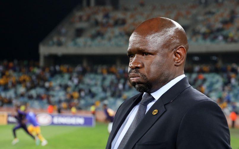 Steve Komphela, coach of Kaizer Chiefs during the MTN8 match between Kaizer Chiefs and Supersport United at Moses Mabhida Stadium. (Muzi Ntombela/BackpagePix)