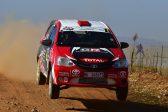 Toyota dominates rally