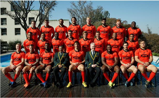The red Springboks. Photo: Gabriel Rossi/Getty Images.