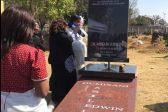 WATCH: Simz Ngema rotates Dumi Masilela's R160k tombstone
