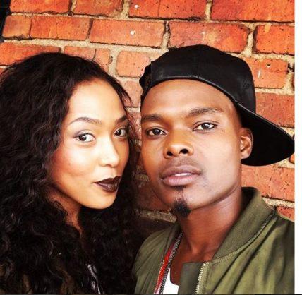 Dumi Masilela and wife Simphiwe Ngema. Picture: Instagram