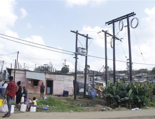 Houses in Mkholombe. Picture: South Coast Herald