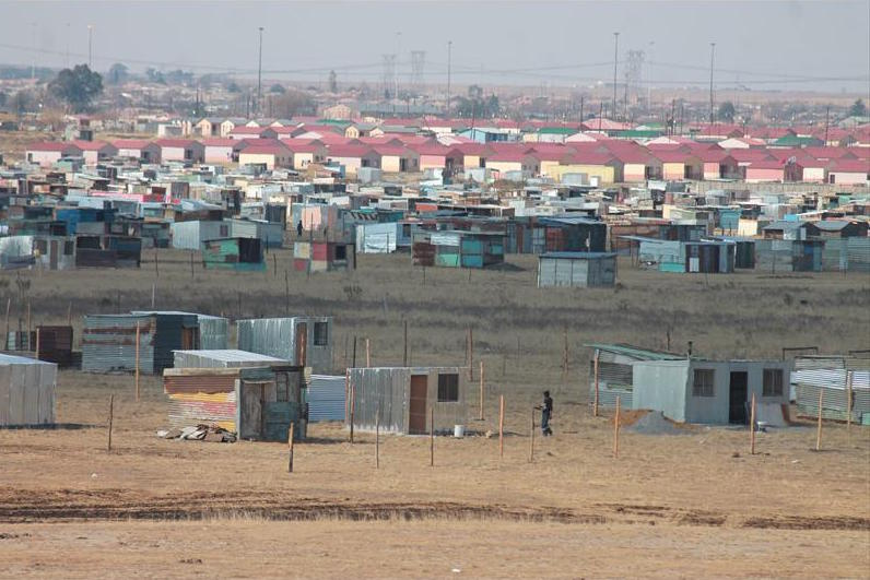 Land invasion is increasing in eMbalenhle, Mpumalanga. Picture: Ridge Times