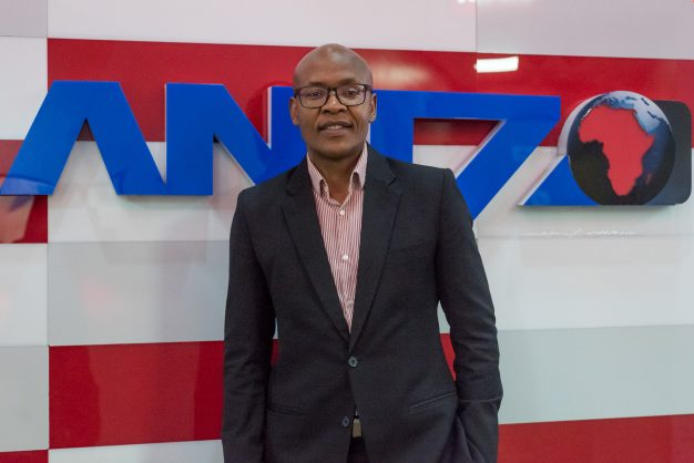 Jimmy Manyi stands for a portrait at the ANN7 offices in Midrand on 25 August 2017. Manyi acquired ANN7 and The New Age newspaper through a R450 million vendor-financed deal. Picture: Yeshiel Panchia