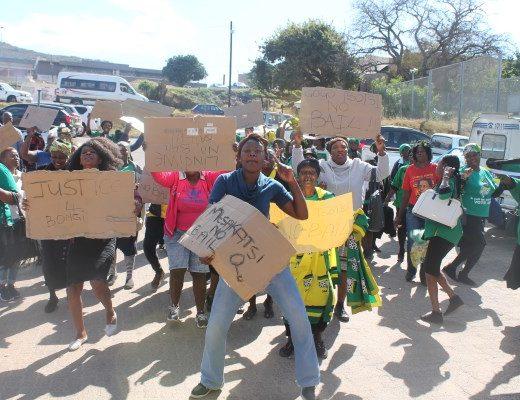Members of the ANC women's league