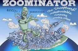 Ghost cartoon: The Zoominator