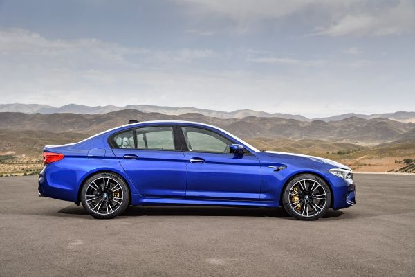 Its Here New Bmw M5 With M Xdrive All Wheel Drive The Citizen