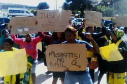 UPDATE: ANC members march against bail application for Mokoena's suspected killers