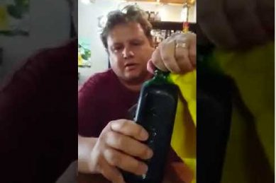 WATCH: Afrikaans guy downs whole bottle of Jagermeister
