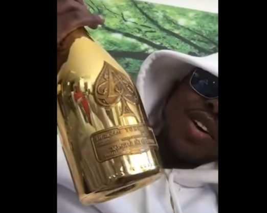 WATCH: Mugabe's son parties in SA with expensive champagne