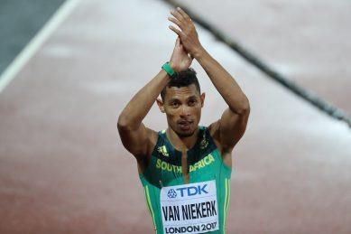World athletics waits with bated breath for Van Niekerk's 2019 return