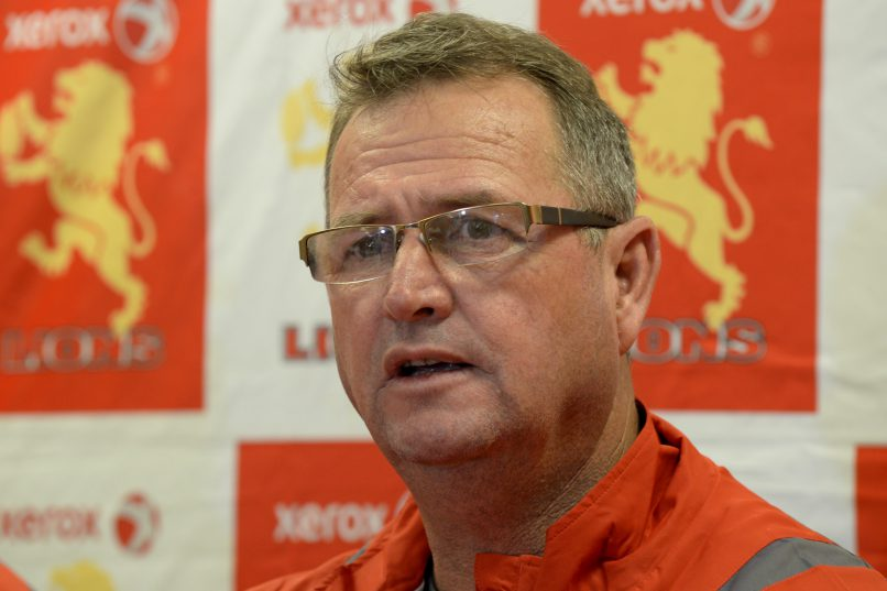 Swys de Bruin isn't worried about the Lions' slow start in the Currie Cup. Photo: Lee Warren/Gallo Images.
