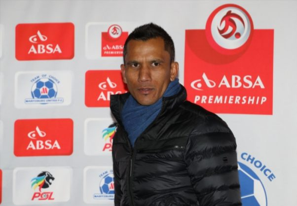 Fadlu Davids (Head Coach) of Maritzburg United (Photo by Steve Haag/Gallo Images)