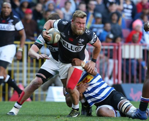 Akker van der Merwe and the Sharks are looking good in the Currie Cup. Photo: Carl Fourie/Gallo Images.