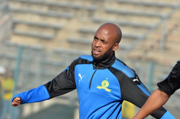 Oupa Manyisa of Mamelodi Sundowns (Photo by Lefty Shivambu/Gallo Images)