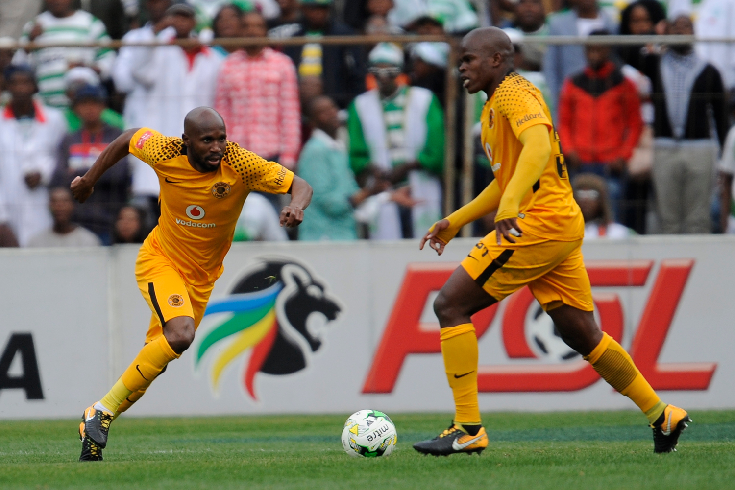 BLOEMFONTEIN, SOUTH AFRICA - AUGUST 20: Ramahlwe Mphahlele of Kaizer Chiefs during the Absa Premiership match between Bloemfontein Celtic and Kaizer Chiefs at Free State Stadium on August 20, 2017 in Bloemfontein, South Africa. (Photo by Charle Lombard/Gallo Images)