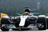 Hamilton equals Schumacher F1 record with 68th pole
