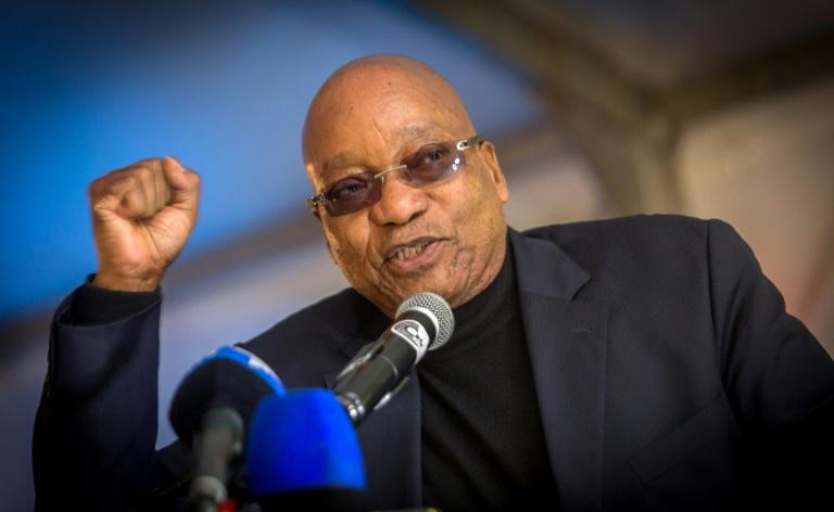 President Jacob Zuma. Picture: AFP