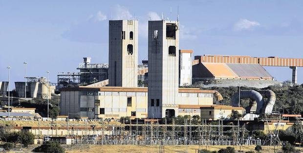 Harmony Gold's Kusasalethu mine in Carletonville.